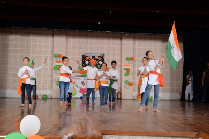 Modern High School-Republic day Celebration
