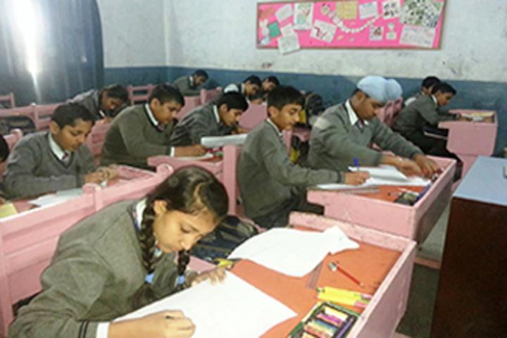 Modern Sandeepni School-Classroom