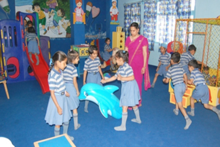 Modern Sandeepni School-Play Area