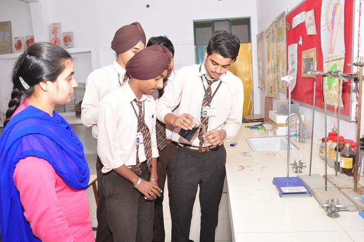 Modern Secular Public School-Chemistry Lab