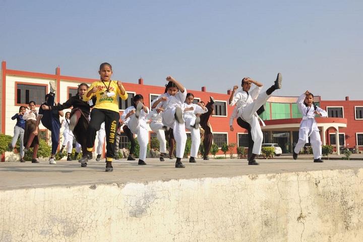 Modern Secular Public School-Karate