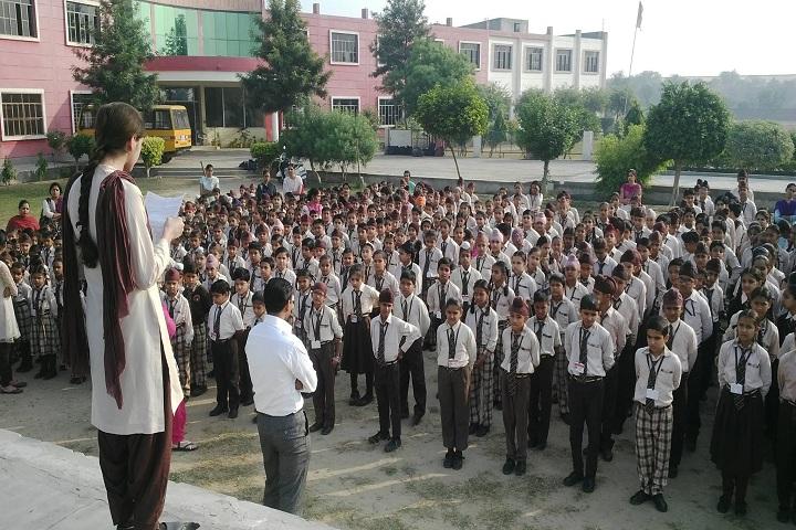 Modern Secular Public School-Assembly