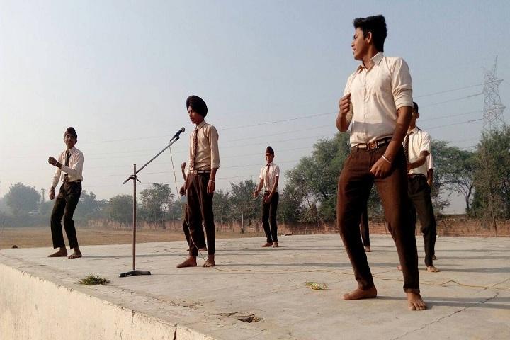 Modern Secular Public School-Playing Music