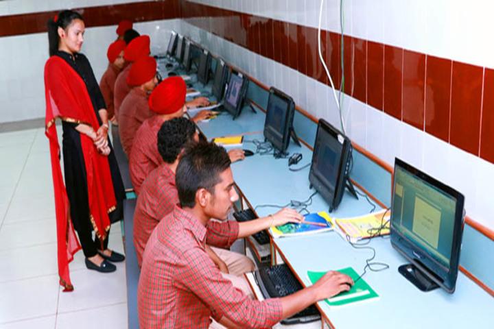 Modern Secular Public School-Computer Lab