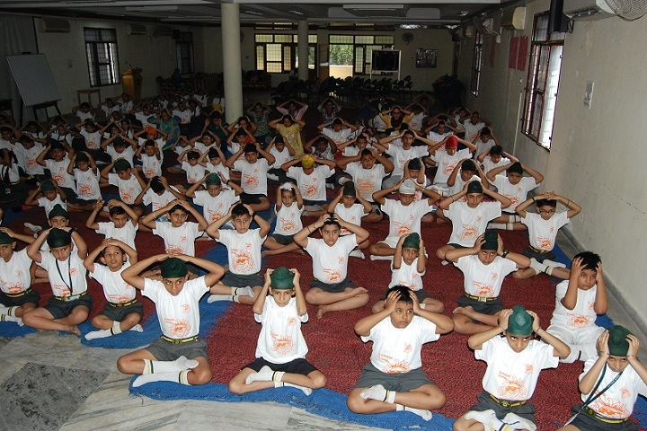 MGN Public School-Multi Media Hall