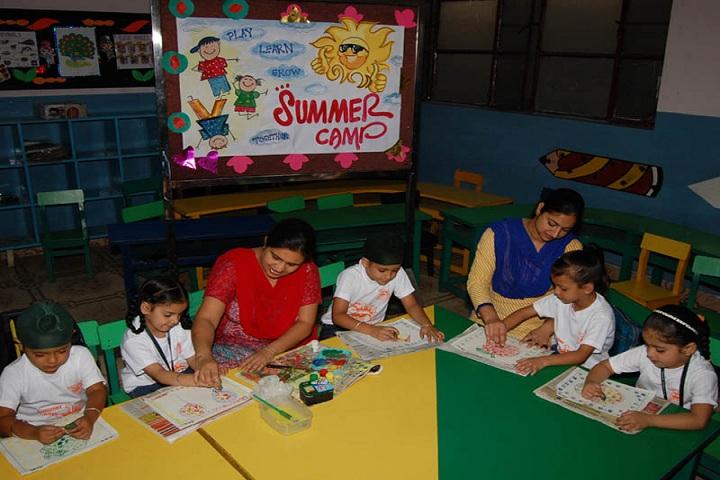 MGN Public School-Summar Camp