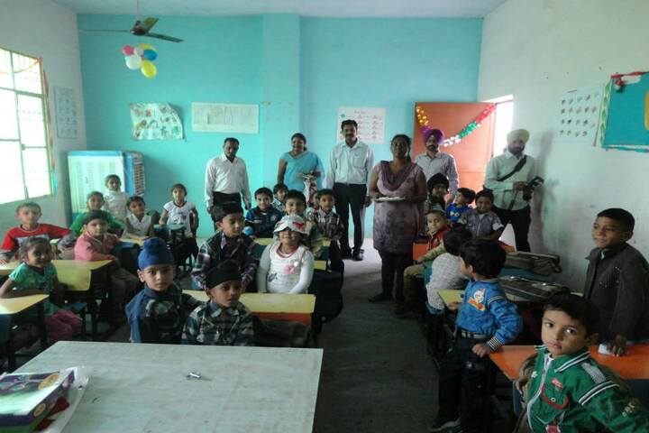 Mother India Public School-Classroom