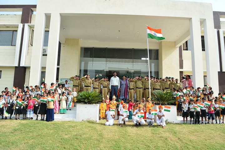 Mother India Public School-Republic day