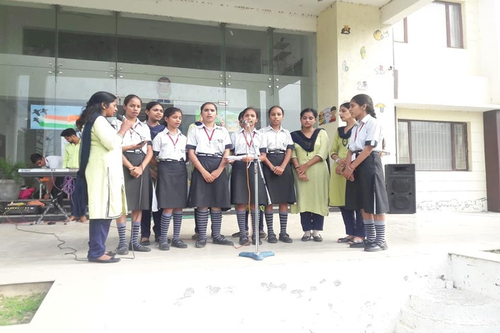 Mother India Public School-Singing