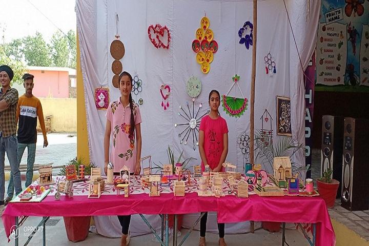 Mothers Pride International Public School-Exhibition
