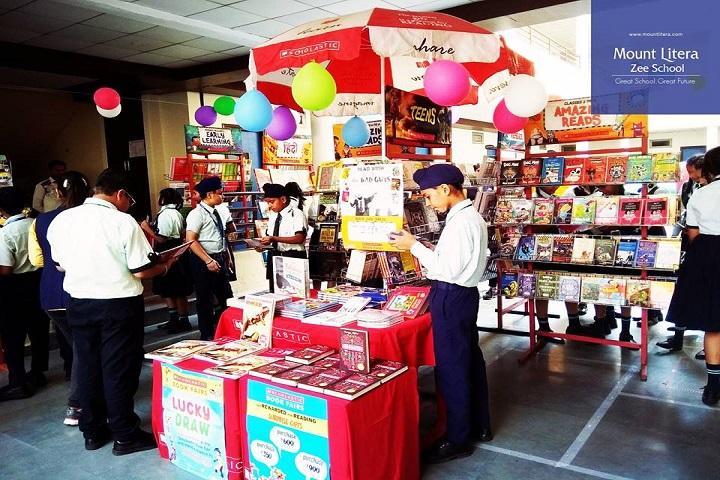 Mount Litera Zee School-Book Stall at school