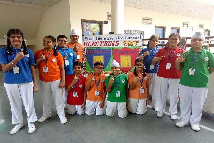 Mount Litera Zee School-Election at school
