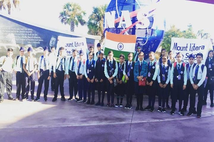 Mount Litera Zee School-NASA Journey