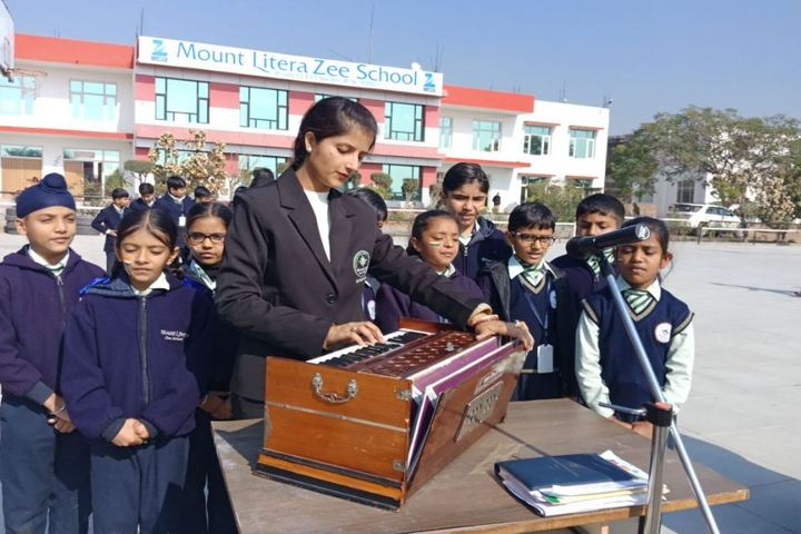 Mount Litera Zee School-Music