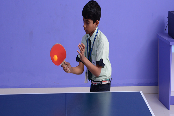 Mount Litera Zee School-Table Tennis