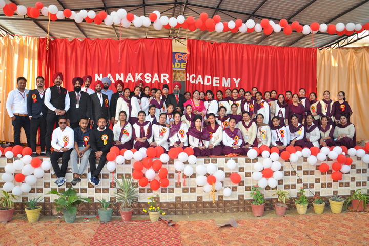 Nanaksar Academy-Group Photo