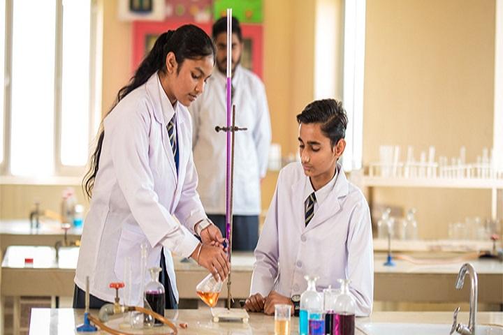 Nand Singh Memorial Public School-Chemistry Lab