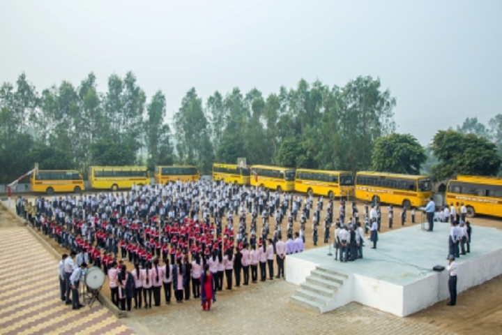 Nand Singh Memorial Public School-Morning Assembly