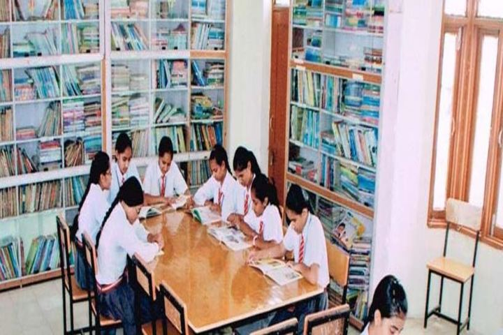 National Convent School-Library