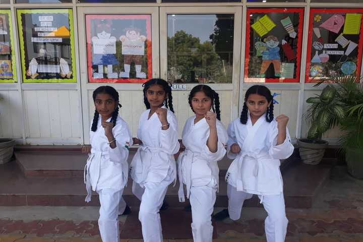 National Public School-Karate
