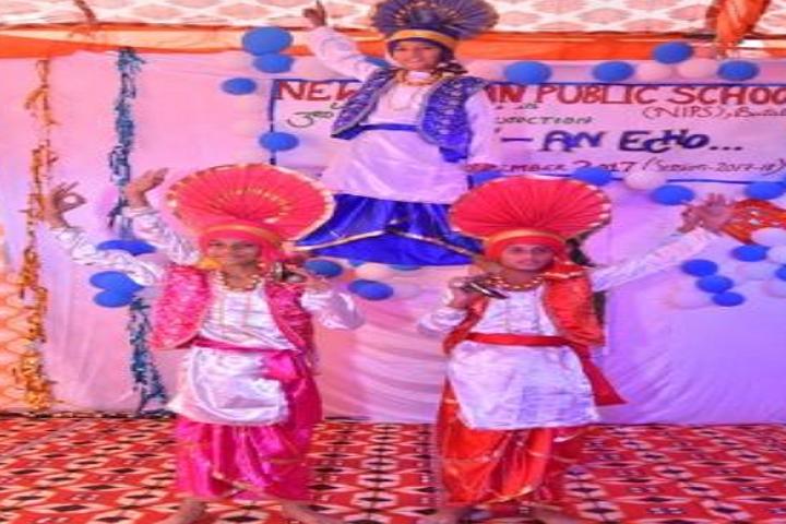 New Indian Public School-Bhangra Dance