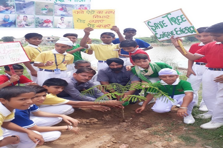 Nri Public Senior Secondary School-Tree Plantation