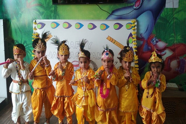 NRM Holly Heart Convent School-Janmashtmi Celebration