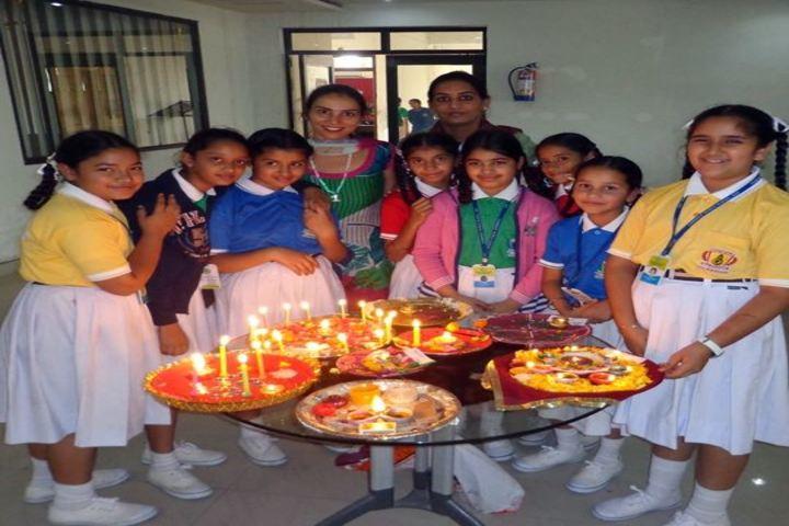 Oxbridge World School- Diwali Celebrations