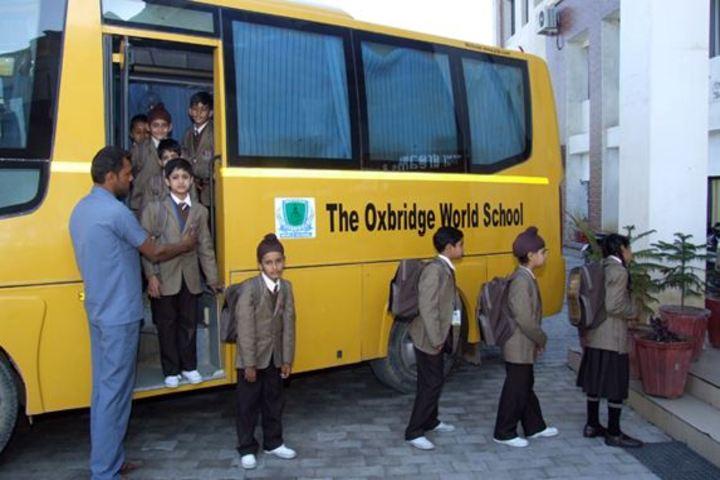 Oxbridge World School- Transport