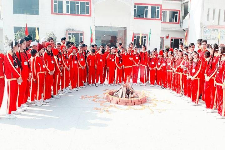 Oxford International School-Lohri Celebration