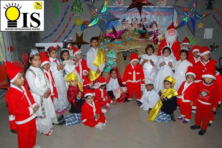 Oxford Internationa School-Christmas Day Celebrations