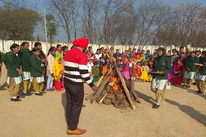 PST Memorial Public School-Lohri celebrations