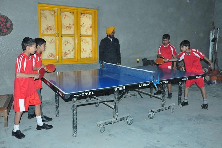 Panacea Senior Secondary Public School-Table Tennis