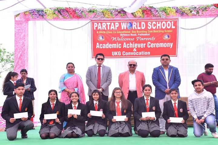 Partap World School-Annual Academy ceremony