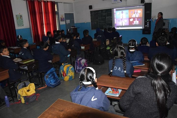 Police Dav Public School-Cyber Awarness Classes