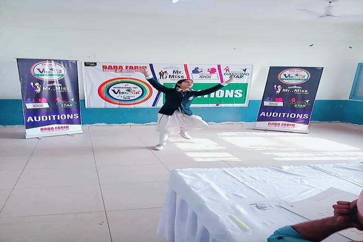 Police Public School-Dancing Activity