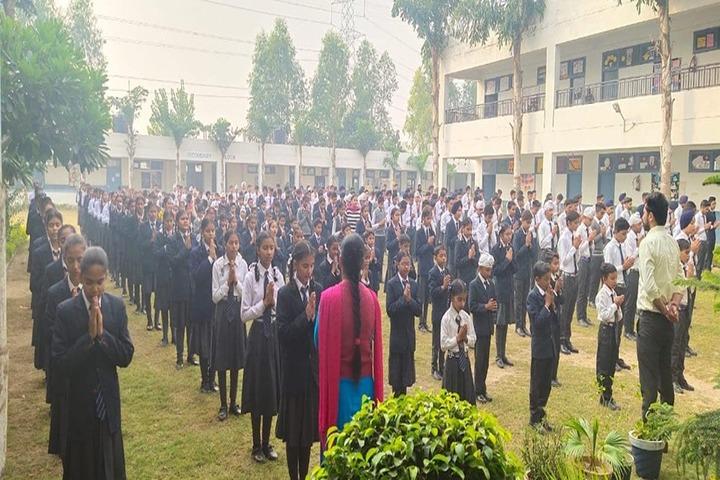 Police Public School-Morning Assembly