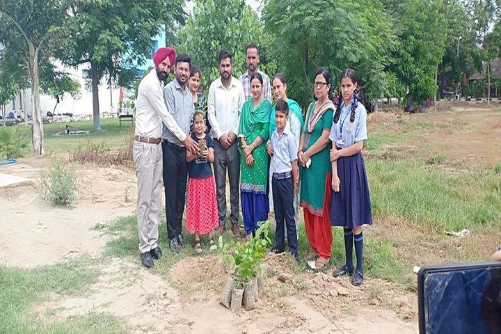 Police Public School-Tree Plantation