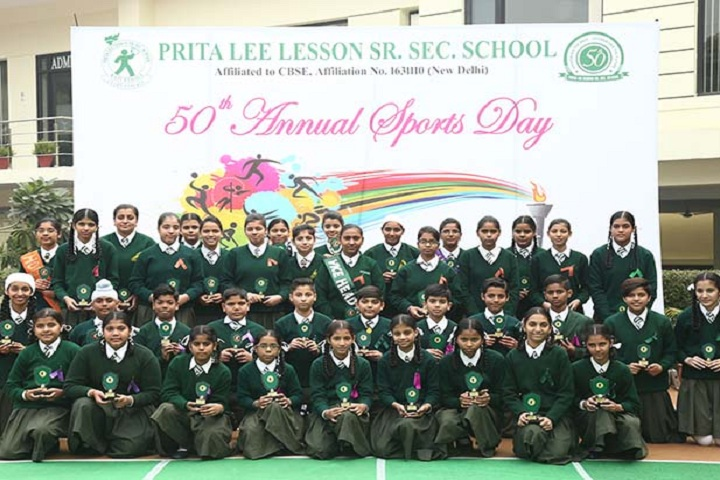Prita Lee Lesson School-Sports Day Celebrations