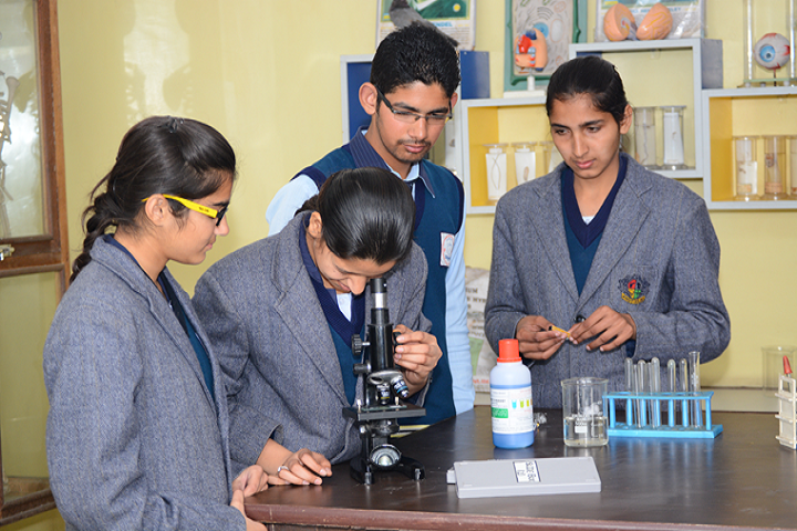 Punjab Convent School-Biology Lab