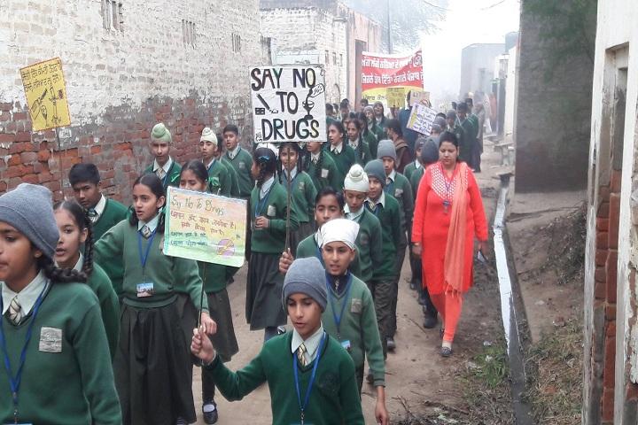 Punjab Convent School-Rally