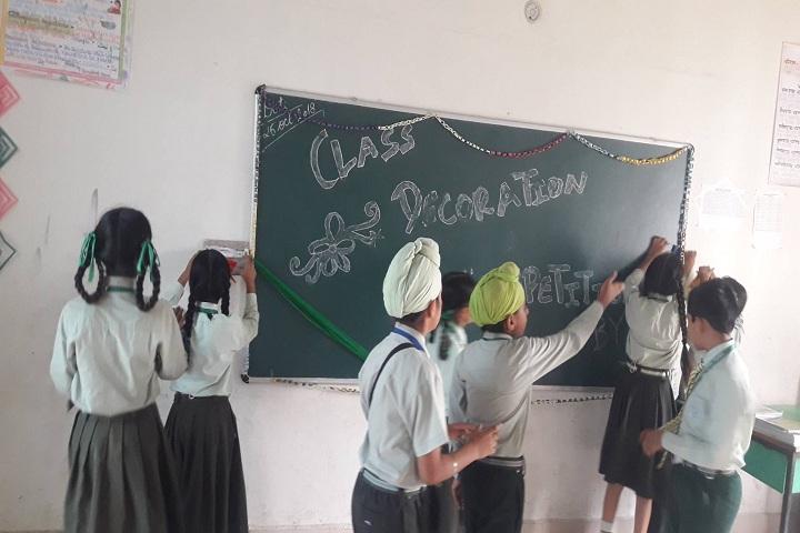 Punjab Convent School-Activity