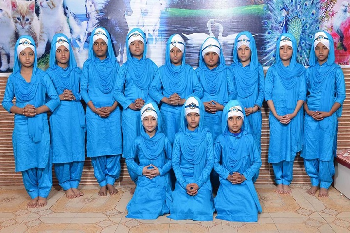 Punjab Public School-Blue Day