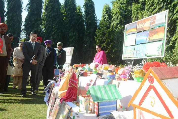 Punjab Public Senior Secondary School-Art and Craft Exhibition
