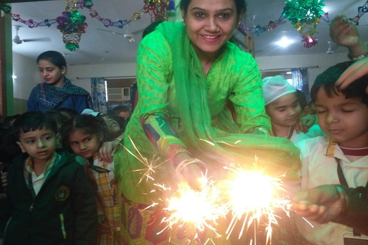R K S Senior Secondary Public School-Diwali Celebrations