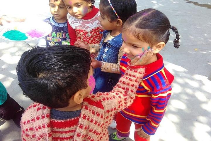 R K S Senior Secondary Public School-Holi Celebrations