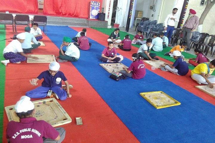 R K S Senior Secondary Public School-Indoor Games