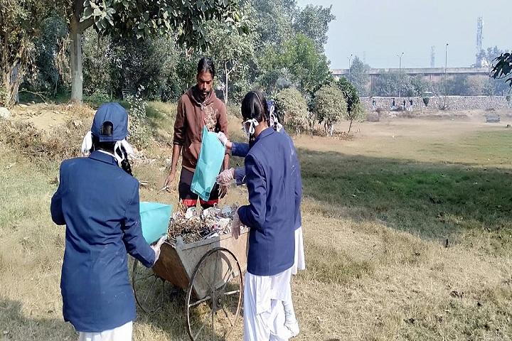R K S Senior Secondary Public School-School Cleaning