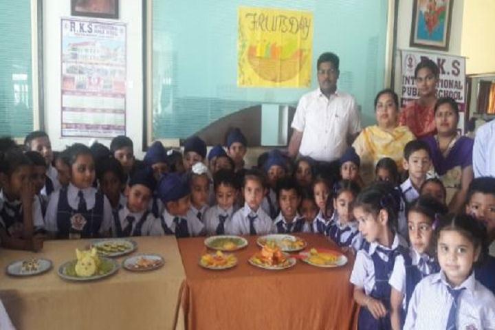 R K S International Public School-Fruits Day Celebration