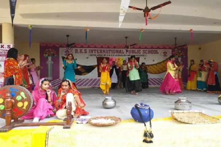 R K S International Public School-Lohri Program